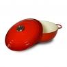Cocotte 26 CM rouge fonte BAUMALU 386128-1