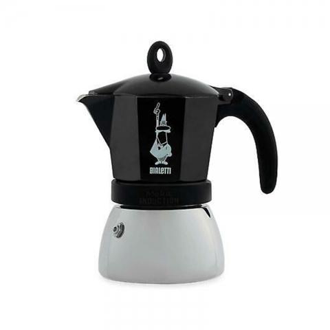 Cafetière italienne induction 6 tasses noire BIALETTI 704154