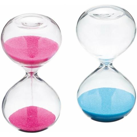 Minuteur sablier 3min COLOURWORKS CWSANDTIMDISP24