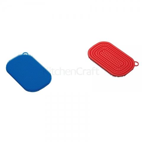 Tampons à récurer antibactérien colourworks Kitchencraft-2