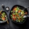 Couverts à salade Ekobo blanc 36387