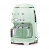 Machine à café filtre années 50' Vert d'eau SMEG DCF02PGEU-1