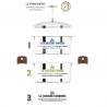 Biome cuit-vapeur 20 cm inox CRISTEL-2