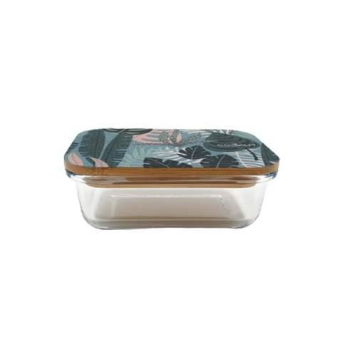 Boîte en verre et bambou 0.37 L Jungle COOKUT BC4P