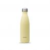 Bouteille isotherme Jaune Pastel 500 ML QWETCH QD3389