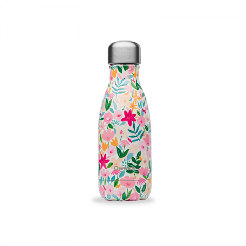 copy of Bouteille isotherme Flowers Bleu 260 ML QWETCH QD3177