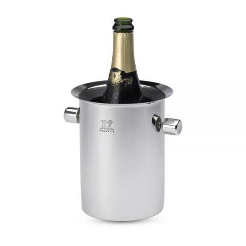 Seau à champagne rafraîchisseur équilibreur inox PEUGEOT