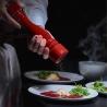 Moulin à sel Paris U'Select en bois laqué rouge 18 cm PEUGEOT-5