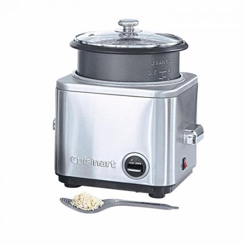Cuiseur à riz et céréales 12P inox CUISINART