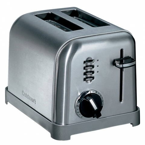 Grille pain 2 tranches inox CUISINART