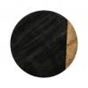 Plateau tournant effet marbré noir 30cm ACCESS-1