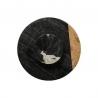 Plateau tournant effet marbré noir 30cm ACCESS-2