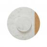 Plateau tournant effet marbré blanc 30cm ACCESS-2