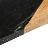 Planche de présentation rectangulaire effet marbré noir 15cm x 30cm ACCESS-2