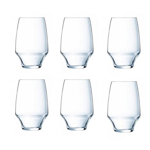 Lot de 6 verres haut 35 cl Open up CHEF & SOMMELIER