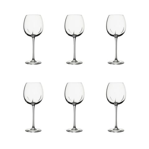 Coffret de 6 verres à vin sage 53cl Helicium