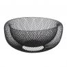 Corbeille à fruits noire 27cm mesh ACCESS