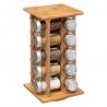 Rack rotatif à épices + 20 épices en bois ACCESS