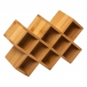 Rack à épices x8 en bambou 5FIVE