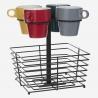 Rack 4 mugs 26CL+ panier ACCESS1