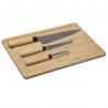 Planche à découper bambou + 3 pièces ACCESS