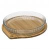 Moule à tarte 26CM avec couvercle en bambou ACCESS