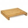 Planche à découper avec tiroir bambou 35X28cm ACCESS1