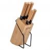 Bloc 5 Couteaux Bambou 5FIVE 151357