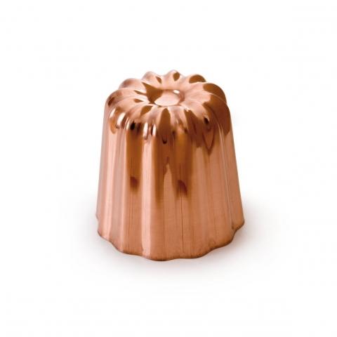 Moule cannelé cuivre 55mm
