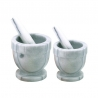 Mortier et pilon en marbre 10 cm
