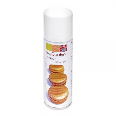 Bombe spray or alimentaire 125ml SCRAPCOOKING