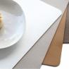 Set de Table Imitation Cuir  Souple Caramel ASA 7802420
