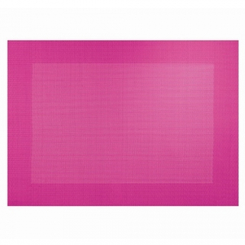 Set de table Asa Selection Brodé Fuchsia - 78117076