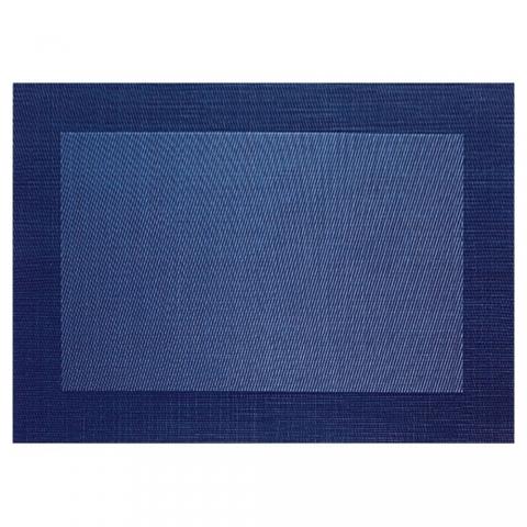 Set de table Asa Selection Brodé Bleu Foncé - 78079076