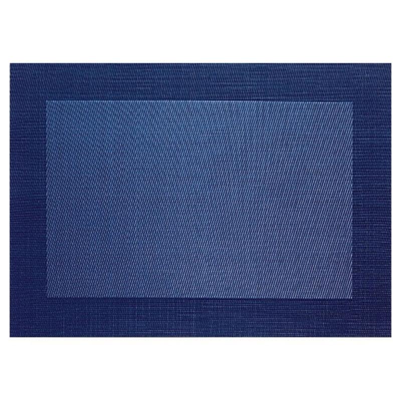 Set De Table Asa Selection Brode Bleu Fonce 78079076