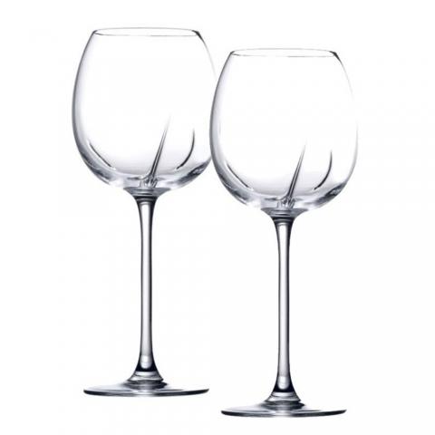 Lot de 2 verres à vin sage Helicium 53cl Arnaud Baratte H53