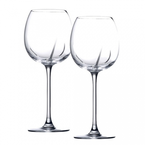 Duo de verres Helicium à Vin Sage 33cl - H33