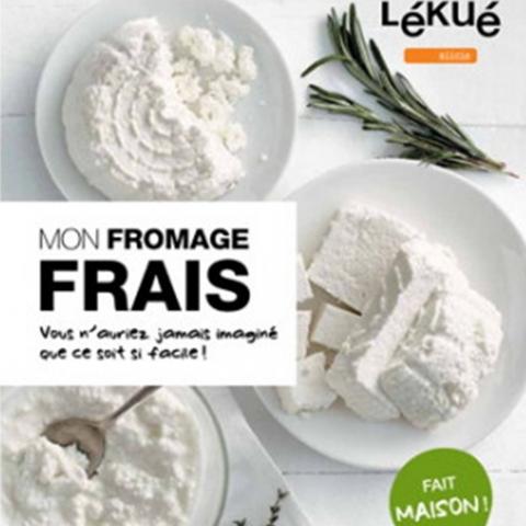 """Livre """"Mon Fromage Frais""""- Lékué"""