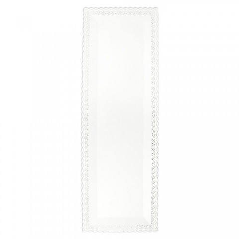 Plat dentelle rectangle 13 x 40 cm ScrapCooking