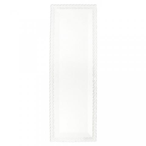 Plat dentelle rectangle 13 x 40 cm ScrapCooking
