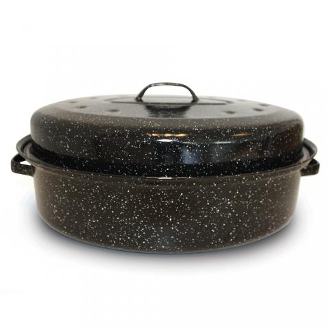 Plat à four émaillé - Roasty cook BEKA 38 cm