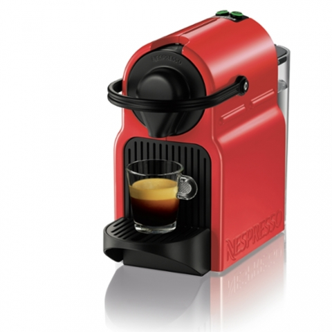 NESPRESSO Inissia KRUPS Rouge Rubis YY1531FD