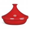 Tajine céramique flame 26cm rouge grand cru EMILE HENRY