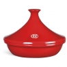 Tajine céramique flame 32cm rouge grand cru EMILE HENRY