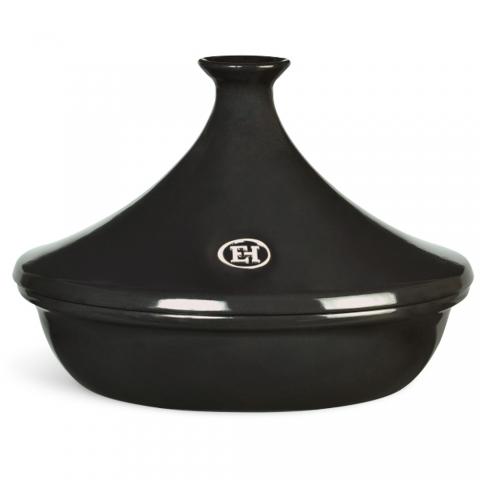 Tajine céramique flame 32cm noir fusain EMILE HENRY