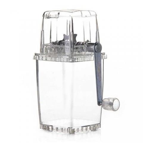 Broyeur à Glace Acrylique transparent
