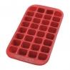 Maxi bac à glaçons 32 cavités Rouge LEKUÉ