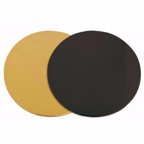 Support à gâteaux Or/Noir 24 cm ScrapCooking x6