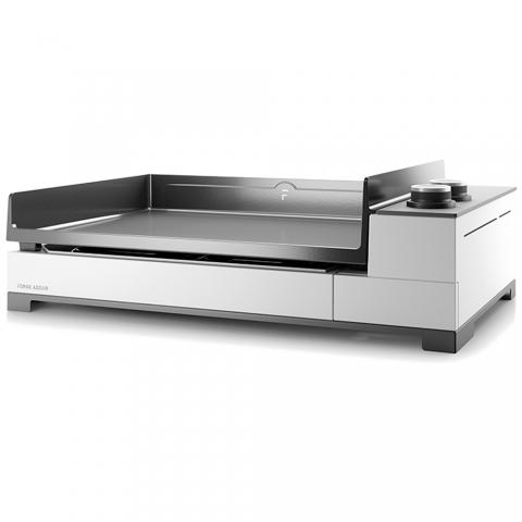 Plancha Premium 60 acier blanc G60A Forge Adour