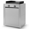 Chariot Plancha Modern 60 inox CHMIF60 Forge Adour
